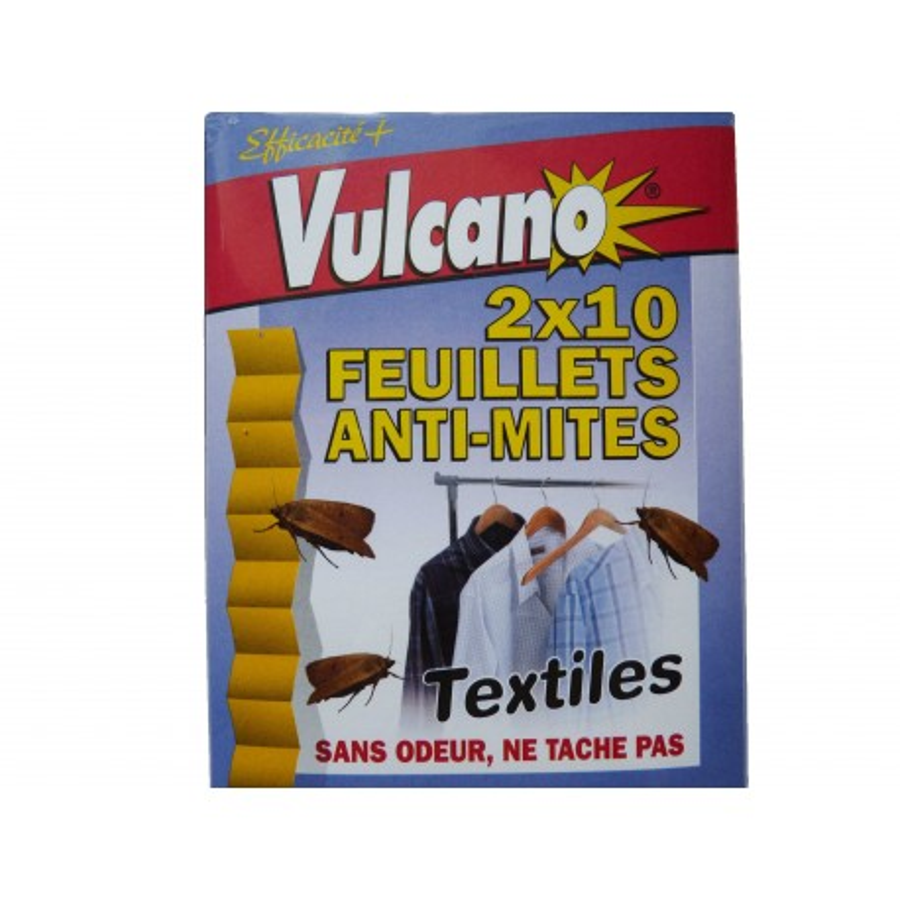 Piège anti-mites des vêtements Vulcano