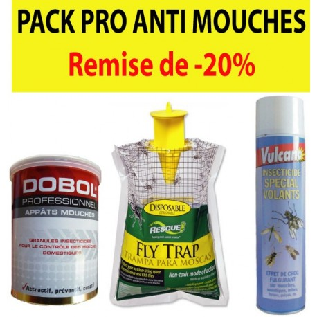 PACK PRO ANTI-MOUCHES
