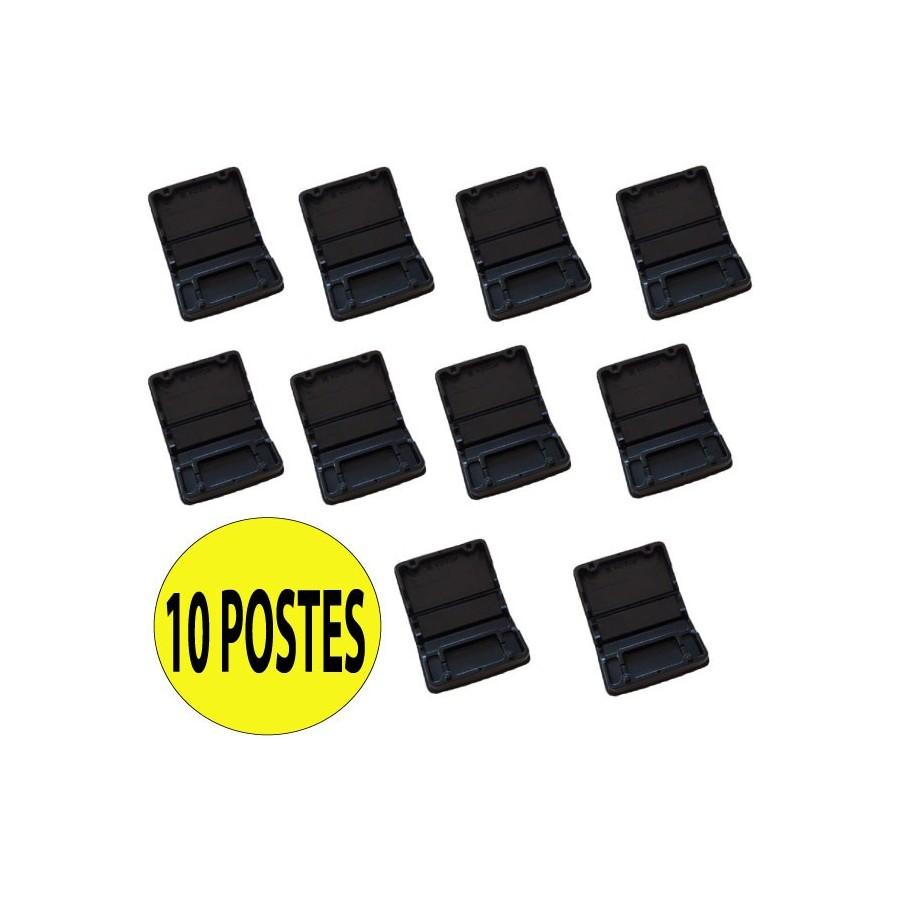 10 Postes PVC Petits Rongeurs