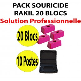 PACK SOURICIDE RAKIL 20 BLOCS