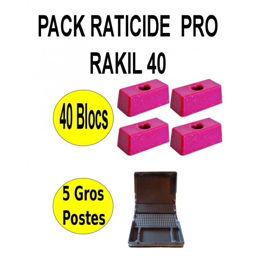 Pack Raticide Pro Rakil 40