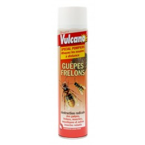 Bombe Insecticide foudroyante anti-frelons Vulcano