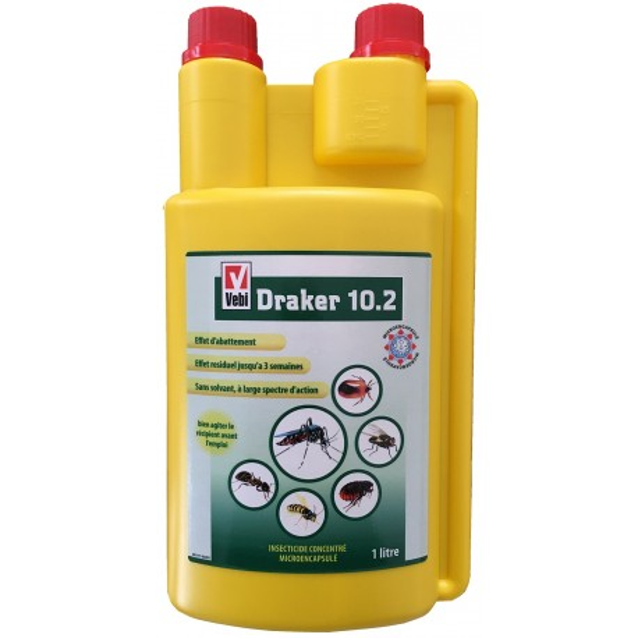DRAKER 10.2 Insecticide professionnel concentré microencapsulé