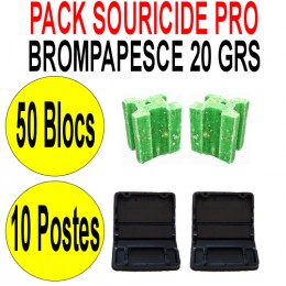 Le Pack Souricide Bromapesce