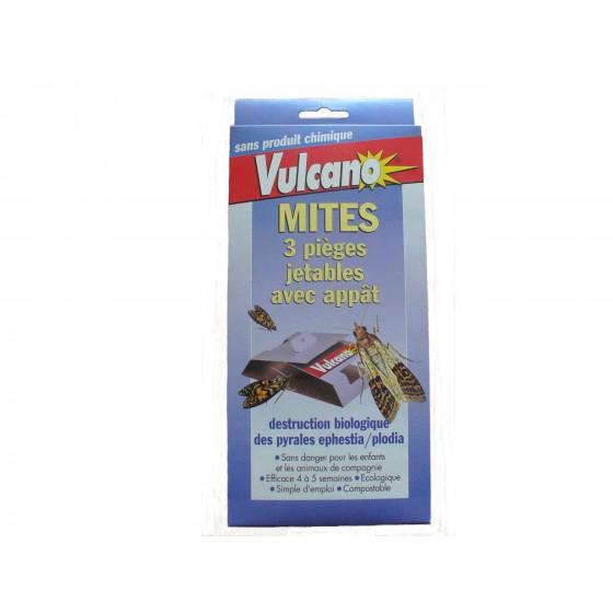 3 pièges biologiques anti-mites Vulcano