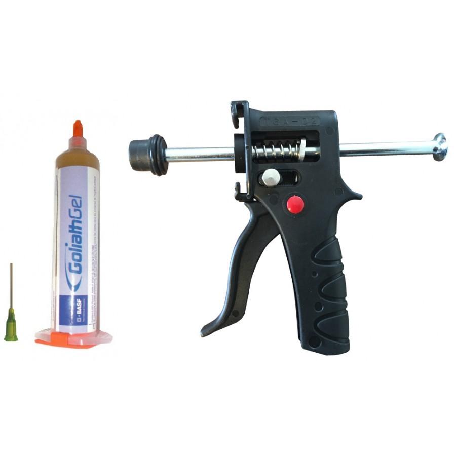Pack Goliath Gel anti-cafards + Pistolet TGA-02 + Aiguille métal