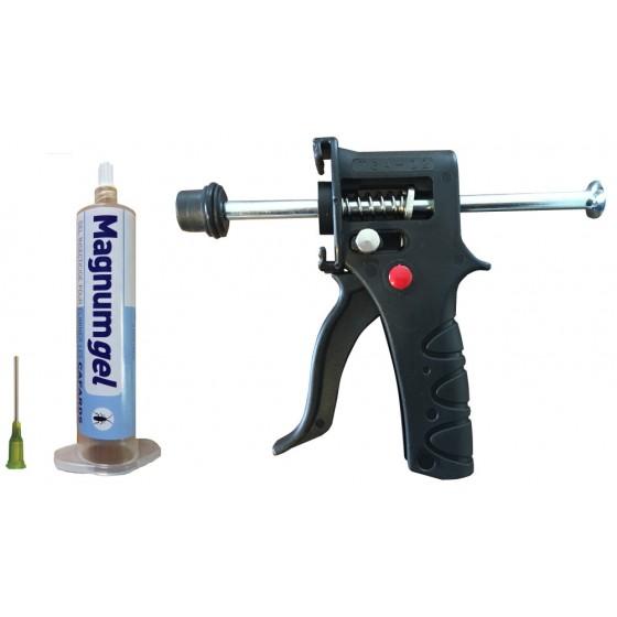 Pack Magnum Gel Anti-Cafards + Pistolet TGA-02 + Aiguille métal